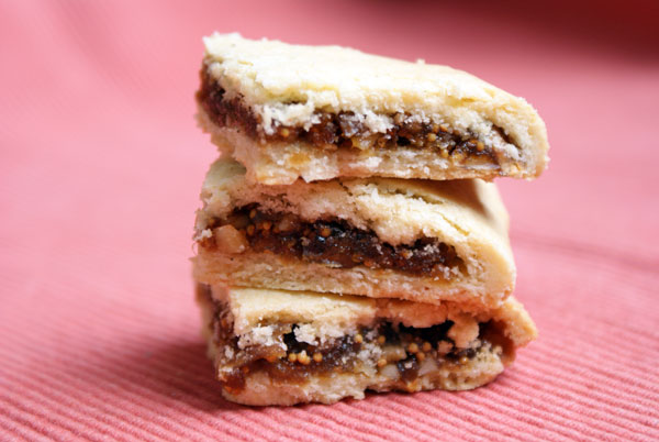 Fig Bars (adapted from Cynthia Barcomie's Baking Book)